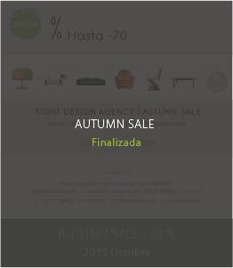 autumn sale - octubre 2015